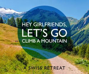 Hey Girlfriends Let's Go Climb a Mountain